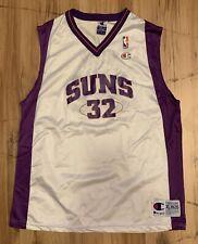 Vintage Champion Phoenix Suns Jason Kidd Jersey Youth XL (18-20) White