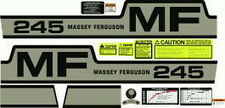 NEW 245 MASSEY FERGUSON TRACTOR COMPLETE DECAL SET GAS HIGH QUALITY DECALS 🎯