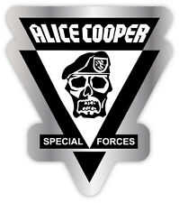 "Alice Cooper special forces sticker decal 4"" x 5"""