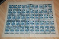 1945 Dominican Republic Sc 412 MNH Complete Sheet of 50, Old, RARE