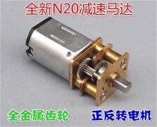 N20 DC 5-9V 1200RPM Speed Reduction Metal Gear Motor w/ Alloy Steel Gearbox,DIY
