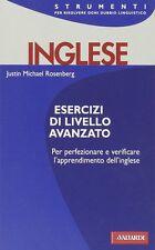 Inglés. Esercizi por nivel avanzado - Valiardi - Libro nuovo especiales