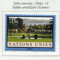 19696) UNITED NATIONS (Geneve) 2002 MNH** Definitive 1v.