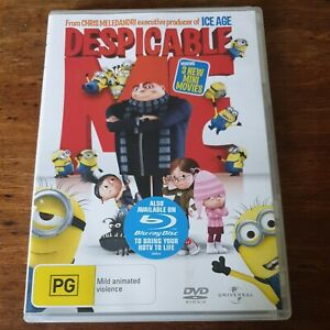 Despicable Me DVD R4 Like New! FREE POST