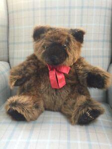 Harrods Foot Dated 30cm Christmas Teddy Bear 1992
