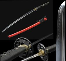 High Quality Japan Samurai Sword Katana Clay Tempered T10 Steel Sharp Blade #650