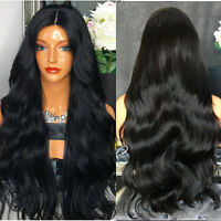 Body Wave Silk Top Human Hair Full Lace Wigs With Baby Hair Virgin Pre Plucked