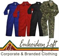 NEW KIDS CHILDRENS BOYS GIRLS OVERALLS,COVERALLS,BOILERSUIT 4 colours 7 size**