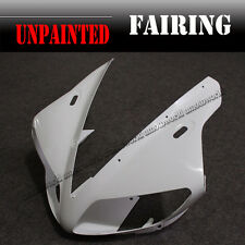ABS Unpainted Front Upper Cowl Cover Fairing Nose For Yamaha YZF R1 2002 2003 02
