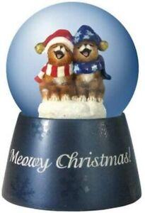 Holly Jollies Meowy Christmas Water Globe