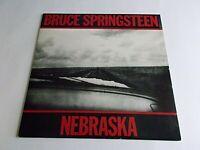 Bruce Springsteen Nebraska LP 1982 Columbia Vinyl Record