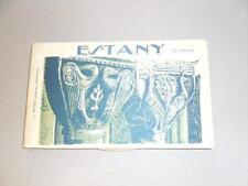 ESPAGNE ESTANY CARNET DE 18 CARTES POSTALES ANCIENNES CATALOGNE CATALUNYA L.ROIS