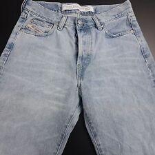 Diesel KULTER Mens Vintage Jeans W29 L30 Light Blue Regular Straight High Rise