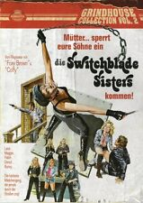 Switchblade Sisters Blu Ray & DVD Subkultur 1975 Jack Hill uncut girl gangs