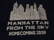 High School HOMECOMING THEME New York City MANHATTAN Skyline T Shirt size Medium