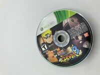 Microsoft Xbox 360 Disc Only Tested Naruto Shippuden Ultimate Ninja Storm 3