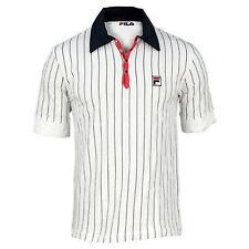 New! Fila Retro Bjorn Borg M VINTAGE Settanta MK1 Polo Shirt Tennis L