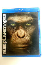 RISE OF THE PLANET OF THE APES (2011, WIDESCREEN BLURAY ,no DVD no DIGITAL COPY)