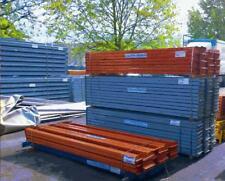 10 x 14 m Palettenregale 4 m hoch, Schwerlastregale, 60 Rahmen, 200 Träger 2t/E