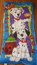 "101 Dalmatians Sleeping Bag Vintage Disney 29 x 55"""