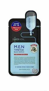 MEDIHEAL MEN Timetox Black Mask Sheet 5ea/10ea
