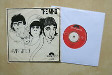 "THE WHO Happy Jack / I've Been Away Original Dutch 7"" in picture sleeve Polydor"