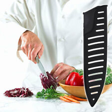 New listing 3pcs Black Long-Lasting Practical Non-Toxic Knife Cover for Restaurant Kitchen