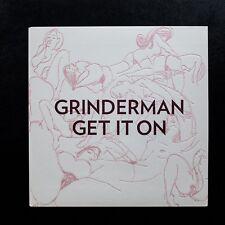 "GRINDERMAN - GET IT ON - UK 7"" NO'D P/S ETCHED VINYL - UNPLAYED - NICK CAVE"