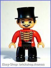 Lego Duplo Zirkusdirektor Dompteur (47394pb152) - Circus Ringmaster - NEW/NEU