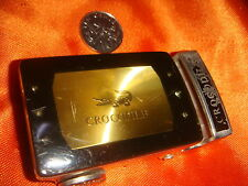 CROCODILE® Steel Buckle from Belt, Old but Nice Collectible