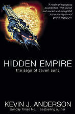 Hidden Empire (Saga of Seven Suns), Anderson, Kevin J., Very Good Book