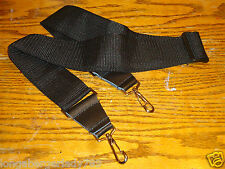 "NEW 60"" ADJUSTABLE METAL SWIVEL CLIP BANJO NECK STRAP 2"" BLACK TENOR 5  6 STRING"