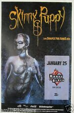"Skinny Puppy ""Live Shapes For Arms 2014 Tour"" San Diego Concert Poster"