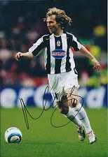 Pavel NEDVED SIGNED Autograph 12x8 Photo AFTAL COA Juventus CZECH CAPTAIN