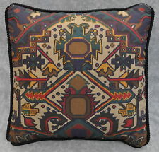 Corded Ralph Lauren Multi Colored Aztec Southwestern Custom Accent Pillow 12""