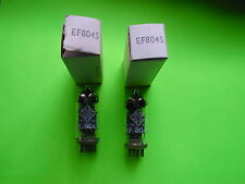 EF 804 S TELEFUNKEN  Matched Pair   NOS