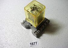 Idec RR3PA-UL 11pin 120vac Relay and Base (1677)