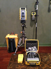 Trimble S6 1 High Precision Robotic Total Station With Tsc2 Withradio Calibrated