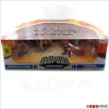 Star Wars Galactic Heroes pack Geonosis Battle Arena - worn box