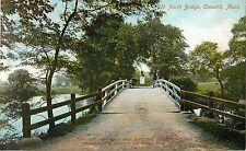 c1905 The Old North Bridge, Concord, Massachusetts Postcard