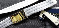 RLX Ralph Lauren GOLF Silver  Gürtel Gr XL