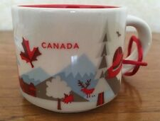 STARBUCKS YOU ARE HERE - CANADA MUG, BNIB Canadian Scenery / Icons Espresso Cup