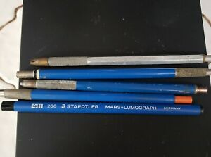 Staedtler Technico Mechanical Pencils Lot 5 PC