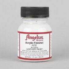 Angelus Acrylic Leather Paint ORIGINAL GLOSS Finisher 1oz Bottle Factory Finish