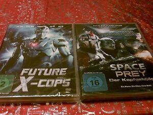 DvD Sammlung - FUTURE X - COPS & SPACE PREY - DER KOPFGELDJÄGER-siehe Bilder