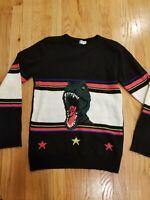 Saint Laurent T-Rex Wool Sweater SS16 Size Small Retail $1,190 unisex; EUC!