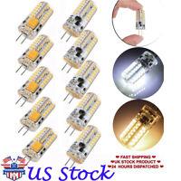 4/6/10 G4 Base 48 LED Light Bulb Lamp 3W AC/DC12V Equivalent To 20W Halogen Bulb