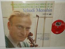 ASD 334 Mendelssohn & Bruch Violin Concertos Yehudi Menuhin Philharmonia 1st Dog