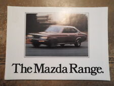 MAZDA RANGE orig 1977 UK Mkt Sales Brochure - 1000 1300 616 818 929 B1600