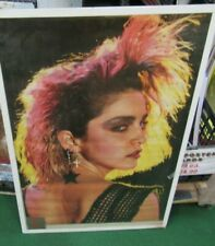 MADONNA POSTER NEW 1984 RARE VINTAGE COLLECTIBLE OOP